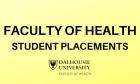 Faculty of Health Student Placements