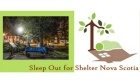 Congratulations to the Dalhousie Social Work Team that participated in the Sleep Out for Shelter Nova Scotia