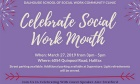 Celebrate Social Work Month