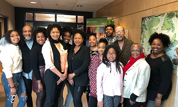 The Association of Black Social Workers (ABSW) had their annual holiday brunch and awarded two scholarships