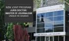Alumni Jim Rossiter and Lisa Taylor on the new Master of Journalism/Juris Doctor program