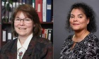 KUDOS! Law school alumna appointed to provincial and family court: Catherine Benton (LLB '93) and Ronda van der Hoek (LLB '96)