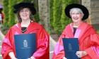 KUDOS! The Honourable Jacqueline R. Matheson and Mary Lu Roffey‑Redden receive Honorary Doctorates from the University of King's College