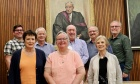 A descendent of former Dean Donald MacRae and Clan MacRae members enjoyed a visit to our law school