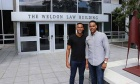 First‑year students—and brothers!—Abel and Eyoab Begashaw discuss how they came to attend law school together