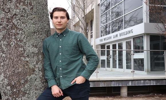 Graduating student's environmental law paper wins CBA essay contest
