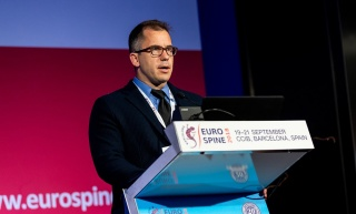 Dr. Andrew Glennie @ EuroSpine in Barcelona, July 2018