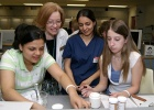 Laboratory Research Lures High School Students at University Discovery Days