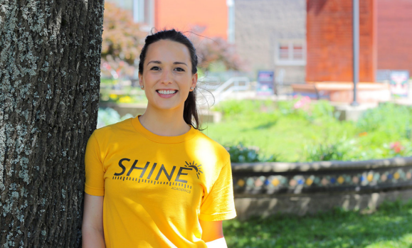 SHINE on: Loran Morrison Recipient of 2017 Volunteerism Award