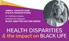 James R. Johnston Chair Launches Black Analysis Lecture Series