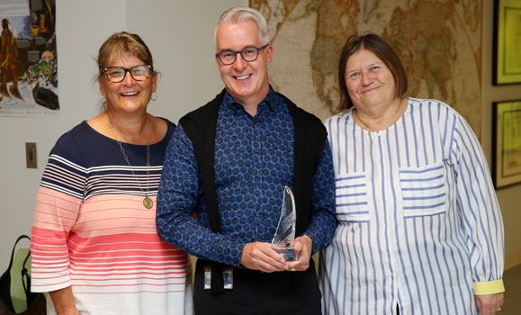 A lifetime of commitment to mental health: Dal counsellor honoured with long‑time service award