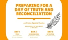 TRUTH AND RECONCILIATION SERIES SETS STAGE FOR COMMEMORATIVE DAY