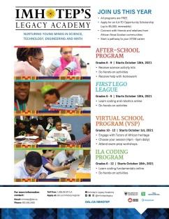 2021-2022 ILA Programs poster (image)