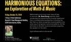 Math & Music Lecture with Dave Kung