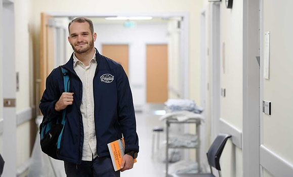 Taking the experience all in—and giving back too