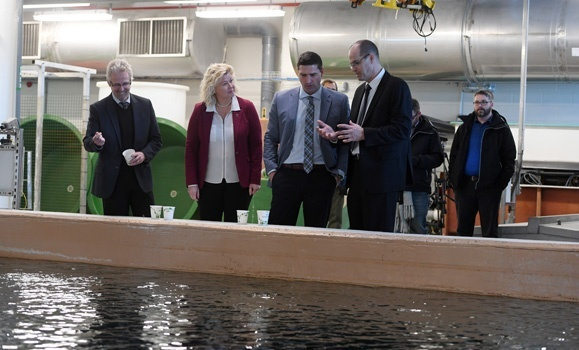 Dal's cutting‑edge aquatic research facility to test tidal energy projects