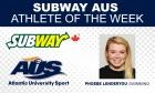 Subway AUS Athlete of the Week (week ending Nov. 22)