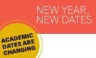 New academic dates set for 2016/17