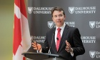 Budget banter: Treasury Board President Scott Brison discusses new federal budget at Dal