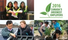 Dal celebrates Earth Day as the university is named one of Canada's Greenest Employers