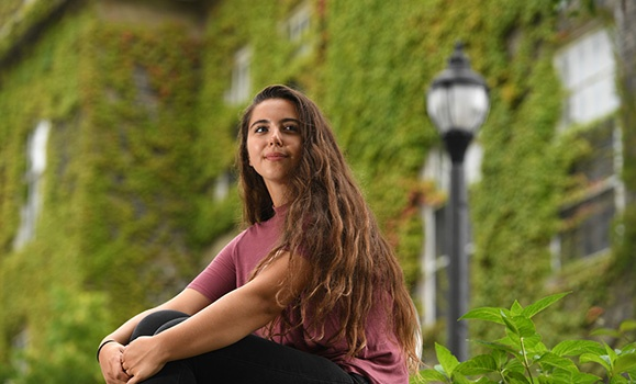 Community‑minded: TD scholarship winner aims to make mark in neuroscience and beyond