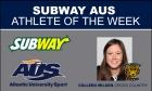 Subway AUS Athlete of the Week (Week ending Sep. 25)