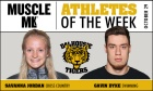 Tigers Athletes of the Week (Oct 29)