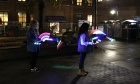 Architecture students brighten up the night at Holiday Parade of Lights