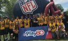 Dal footballers host NFL Play 60