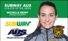 Michelle Reddy (cross country) named Subway AUS Athletes of the Week
