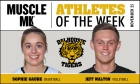 MUSCLE MLK Athletes of the Week (week ending Nov. 25)