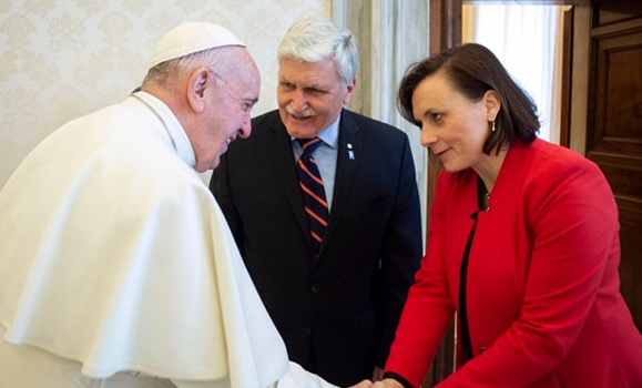 Dallaire Initiative visits the Vatican