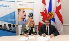 Dalhousie and Mitacs sign agreement to help students gain international research experience