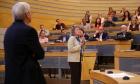 """Five years of """"Impact"""": Pres and provost look back at Strategic Direction achievements in community town hall"""