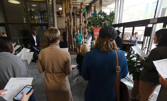A chorus for good: Big Sing leads Dal in United Way campaign kickoff singalong