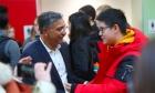 Meeting and greeting Deep Saini, Dal's new president
