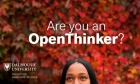 Calling Dal's next thought leaders: OpenThink initiative aims to equip PhD students to amplify their ideas