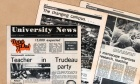 Inside Volume 1, Number 1: Flipping through the pages of the first‑ever edition of Dal News