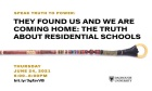 Next Speak Truth to Power panel to showcase Indigenous voices on the truth about residential schools