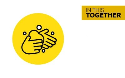 In this together - keep up good hand washing habits