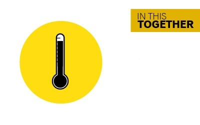 In this together - stay home if you feel unwell