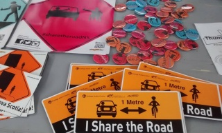 Share the Road Promotional Materials